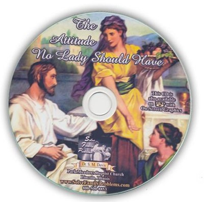The Attitude No Lady Should Have Audio CD  -     By: Dr. S.M. Davis