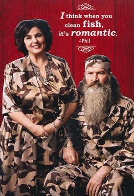 Duck Dynasty, Miss Kay and Phil Love Cards, Pack of 6  -