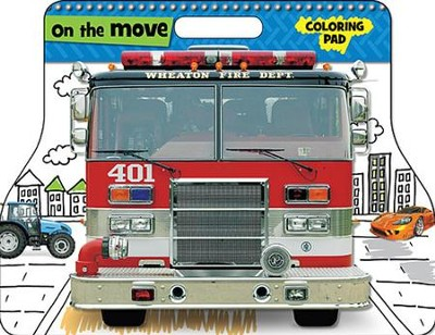 On the Move Coloring Pad  -