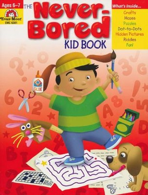 The Never-Bored Kid Book, Ages 6-7   -