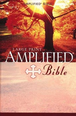 The Amplified Bible, Expanded Edition, Large Print, Hardcover   -