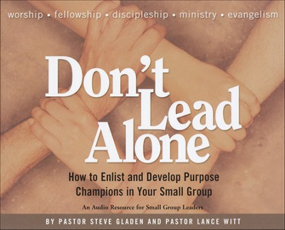 Don't Lead Alone, 6-CD Set  -     By: Steve Gladen, Lance Witt