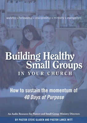Building Healthy Small Groups In Your Church, 4 CDs  -     By: Steve Gladen, Lance Witt