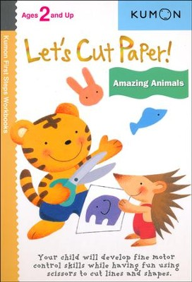 Let's Cut Paper! Amazing Animals  -