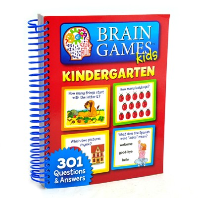 Brain Games Kids: Kindergarten  -
