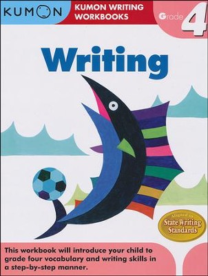 Kumon Writing, Grade 4   -