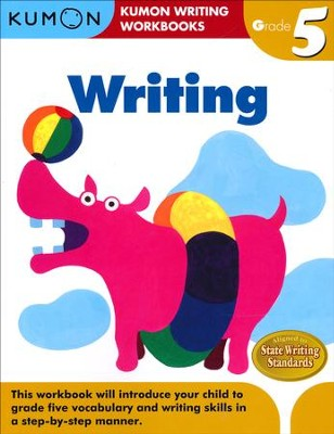 Kumon Writing, Grade 5   -