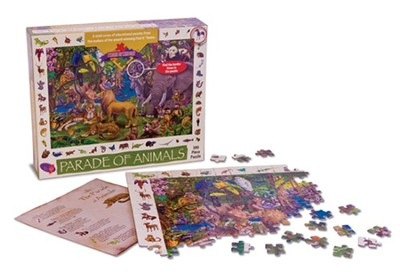 The Parade of Animals Puzzle   -