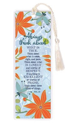 Always Think About What Is True Bookmark  -