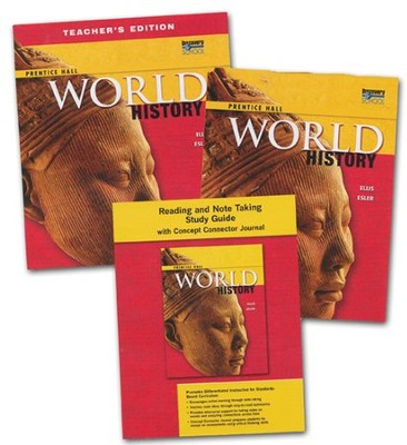 Prentice Hall World History Homeschool Bundle   -
