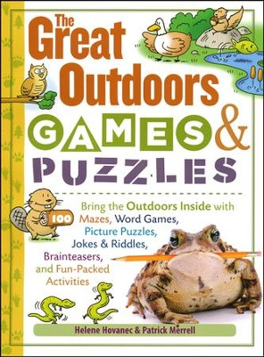 The Great Outdoors Games & Puzzles   -     By: Helene Hovanec, Patrick Merrell