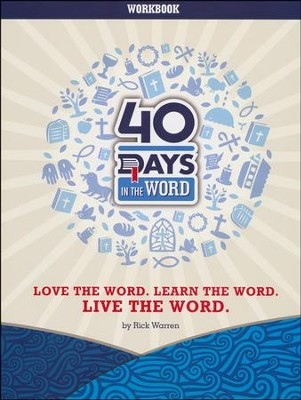 40 Days in the Word Participant Workbook   -     By: Rick Warren