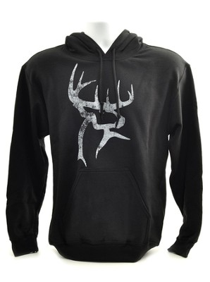 Buck Commander Hooded Sweatshirt, Black, XXX-Large  -