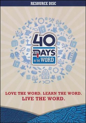 40 Days in the Word Resource Disk, CD-ROM   -     By: Rick Warren