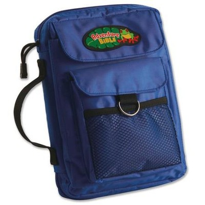 The Adventure Bible-Bible Cover, Medium, Blue  -