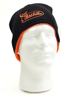Buck Commander Beanie, Black / Orange, Buck Commander Series   -