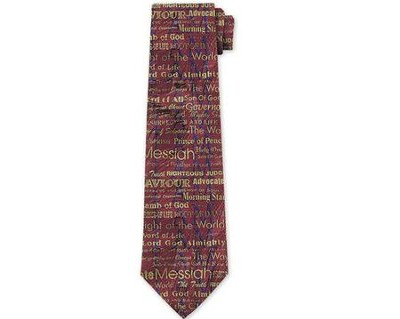Names of Jesus Silk Tie  -