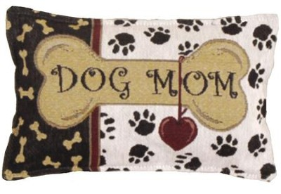 Dog Mom Pillow  -
