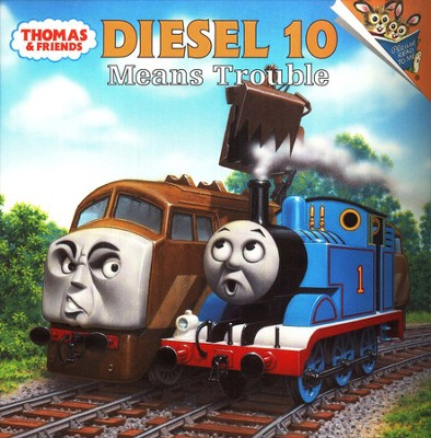 Thomas the Tank Engine: Diesel 10 Means Trouble   -     Edited By: Random House     By: Britt Allcroft     Illustrated By: Richard Courtney