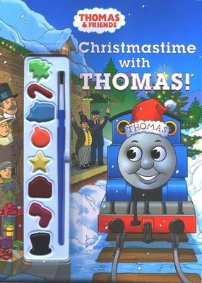 Christmastime with Thomas! with Paint Brush and Paint Pots   -     By: Rev. W. Awdry     Illustrated By: Jeff Albracht