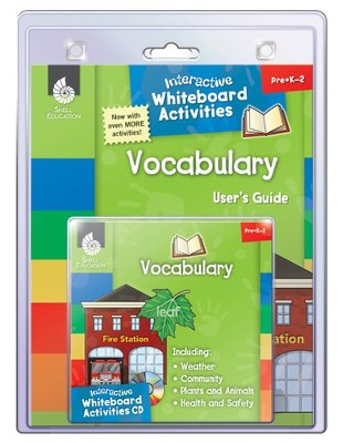 Interactive Whiteboard Activities: Vocabulary  -