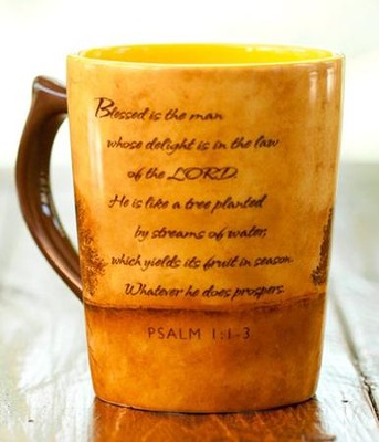 Blessed is the Man Mug  -