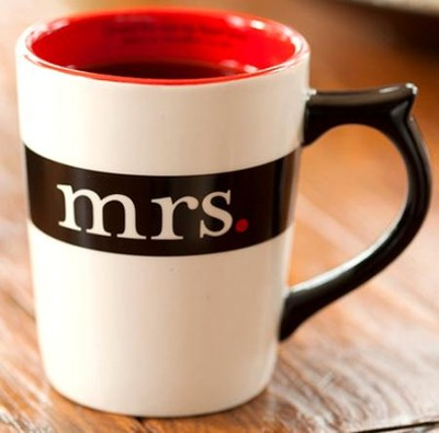 Mrs. Mug, I Found the One My Heart Loves    - Slightly Imperfect  -