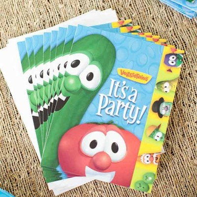 Veggie Tales Invitations, Package of 8  -