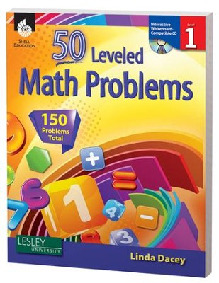 50 Leveled Problems for the Mathematics Classroom Level 1  -     By: Linda Dacey