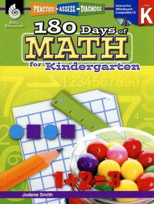Practice, Assess, Diagnose: 180 Days of Math for Kindergarten  -     By: Jodene Smith
