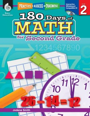 Practice, Assess, Diagnose: 180 Days of Math for Second Grade  -     By: Jodene Smith