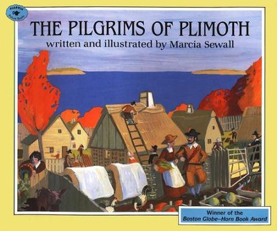 The Pilgrims Of Plimoth, Paperback   -     By: Marcia Sewall