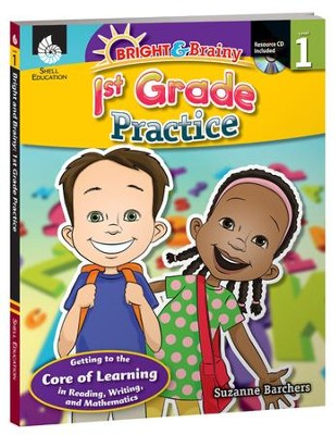 Bright & Brainy: 1st Grade Practice  -     By: Suzanne Barchers