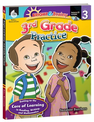 Bright & Brainy: 3rd Grade Practice  -     By: Suzanne Barchers