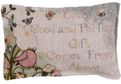 Every Good and Perfect Gift Pillow  -