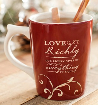 God Richly Gives Us Everything to Enjoy Mug  -