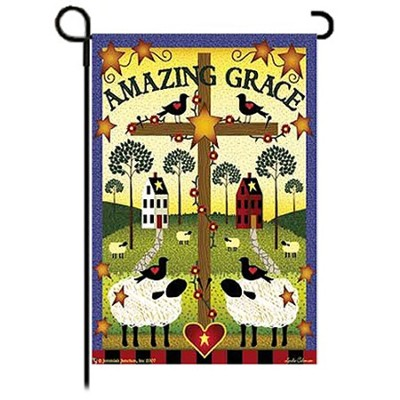 Amazing Grace Garden Flag   -