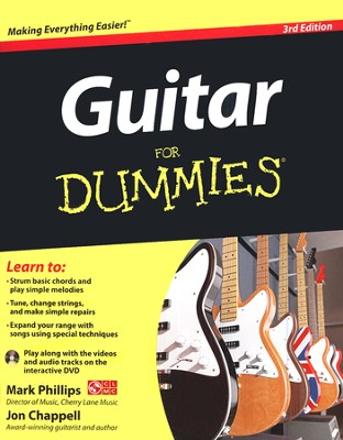 Guitar For Dummies, with DVD  -     By: Mark Phillips, John Chappell