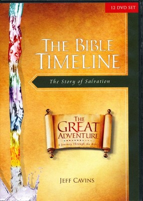 The Bible Timeline: The Story of Salvation, 12-DVD Set   -     By: Jeff Cavins