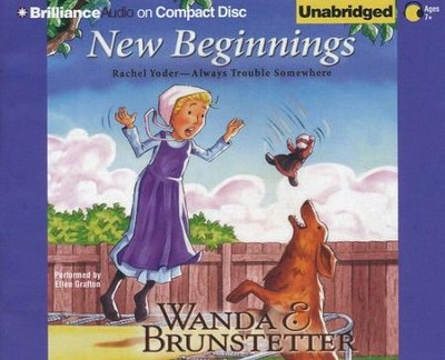 #4: New Beginnings Unabridged Audiobook on CD  -     Narrated By: Ellen Grafton     By: Wanda E. Brunstetter