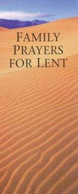 Family Prayers for Lent, Package of 25   -
