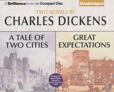 Tale of Two Cities and Great Expectations, A: Two Novels - Unabridged Audiobook on CD  -     Narrated By: Buck Schirner, Michael Page     By: Charles Dickens