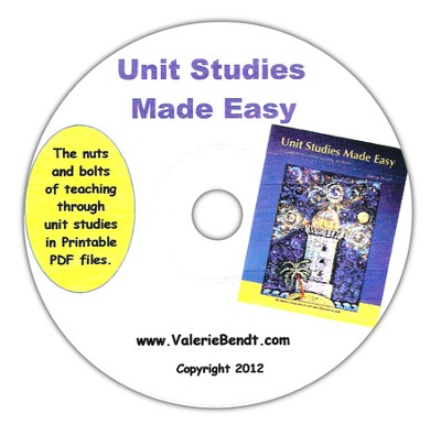 Unit Studies Made Easy CD, 2012 Edition   -