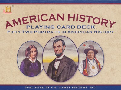 American History Playing Card Deck   -