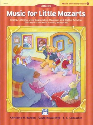Music for Little Mozarts, Music Discovery Book 1   -     By: Christine H. Barden