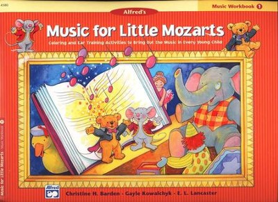 Music for Little Mozarts, Music Workbook, Book 1   -     By: Christine H. Barden, Gayle Kowalchyk, E.L. Lancaster