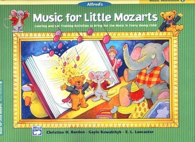 Music for Little Mozarts, Music Workbook, Book 2   -     By: Christine H. Barden