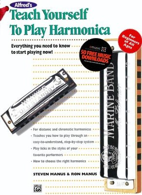 Teach Yourself to Play Harmonica Kit (Book & Hohner Harmonica)  -