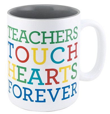 Teachers Touch Hearts Forever Mug  -