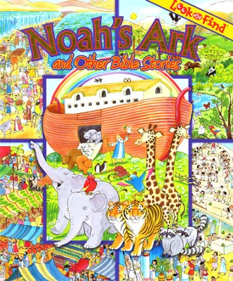 Noah's Ark and Other Bible Stories: Look and Find  -